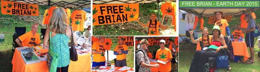 FREE BRIAN, EARTH DAY 2015